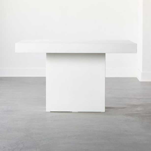 Span Small Ivory Dining Table - CB2