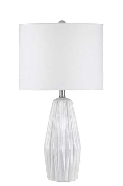 """Davis 25"""" Ceramic Table Lamp - Loom 23"""