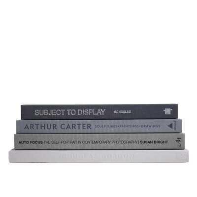 4 Piece Granite Stak Authentic Decorative Book Set - Wayfair