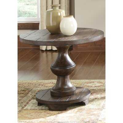 Sherita Pedestal End Table - Wayfair