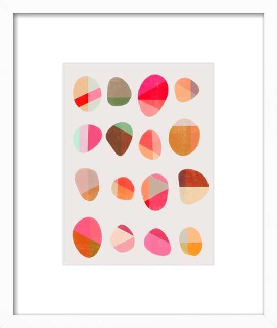 Painted Pebbles 5 by Garima Dhawan for Artfully Walls - Artfully Walls