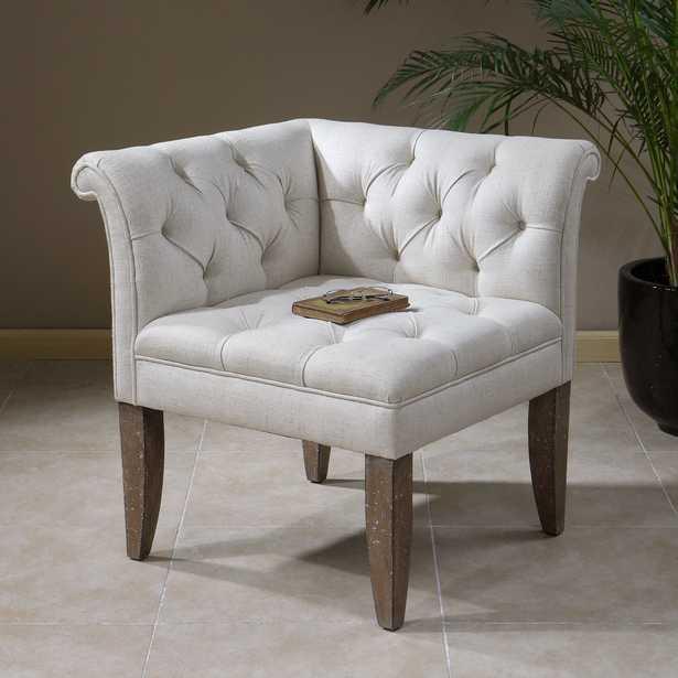 Tahtesa Corner Chair - Hudsonhill Foundry