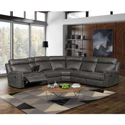 Kuo Right Hand Facing Reclining Sectional - Wayfair