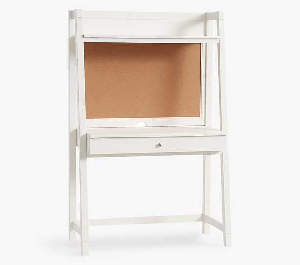 Morgan Leaning Wall Desk, Simply White, In-Home Delivery - Pottery Barn Kids