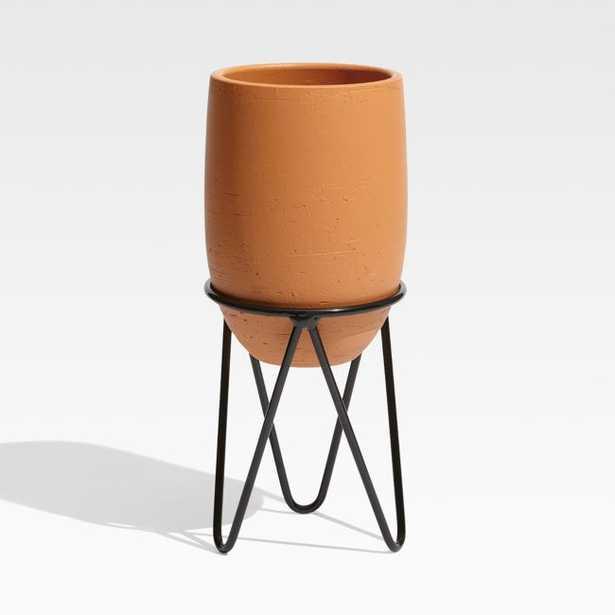Jacinta Small Terracotta Planter - Crate and Barrel