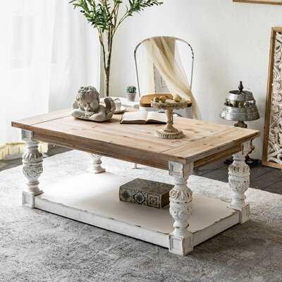 Fordyce Coffee Table with Storage - Wayfair