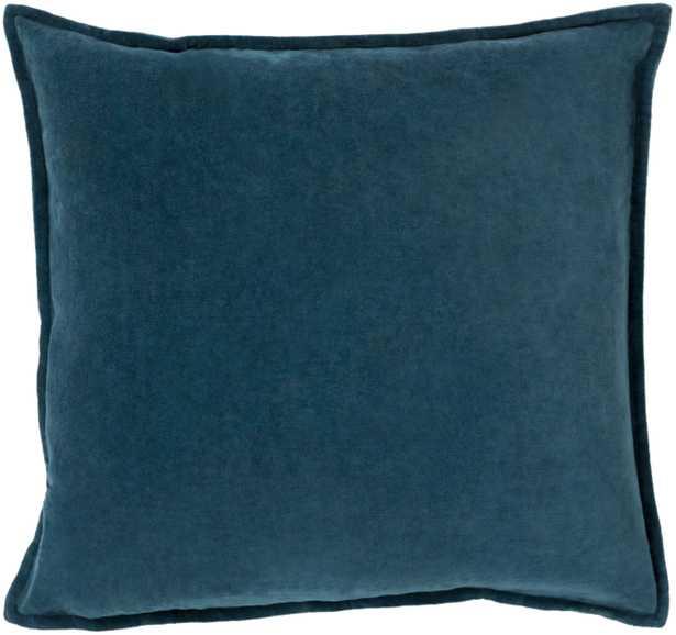 """Cotton Velvet - CV-004 - 22"""" x 22"""" - pillow cover only - Neva Home"""
