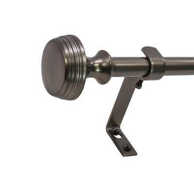 Zora Core Curtain Knob Telescoping Drapery Rod Set - AllModern