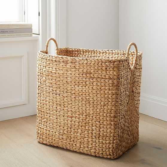 Curved Basket, Rectangular Utility, Large - West Elm
