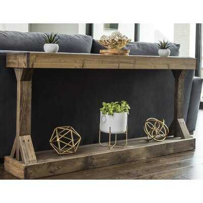 Oleary Solid Wood Console Table - Wayfair