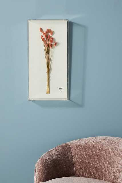 Dried Botanical Wall Art By Anthropologie in Pink Size S - Anthropologie
