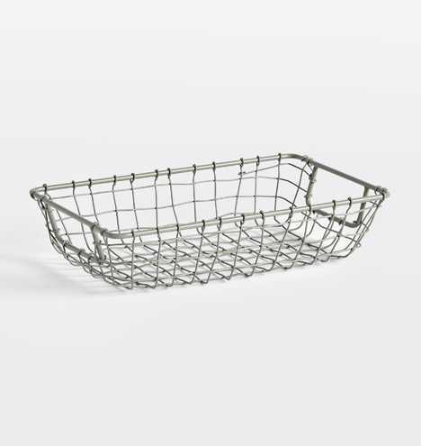 Small Modern Wire Basket - Rejuvenation
