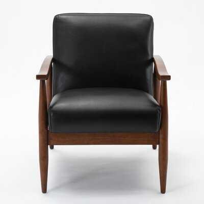 Alice Leather Gel Armchair - Wayfair