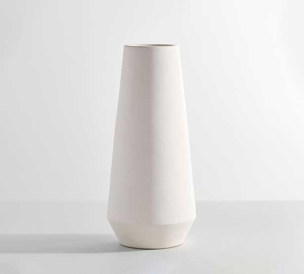 Tall White Vases, Small, White - Pottery Barn
