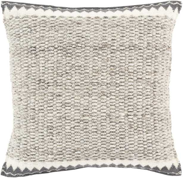 """Faroe, 22"""" Pillow with Poly Insert - Neva Home"""