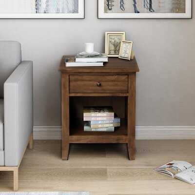 Catargiu 1 - Drawer Solid Wood Nightstand - Wayfair