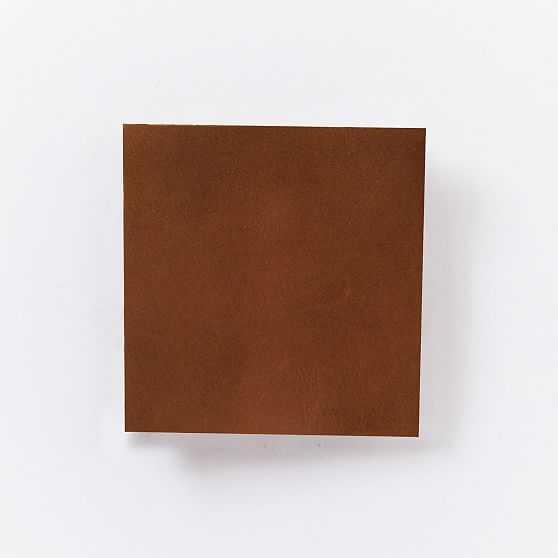 Sloane Armchair, Weston Leather, Molasses, Light Bronze - West Elm