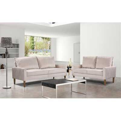 Petit 2 Piece Living Room Set - Wayfair