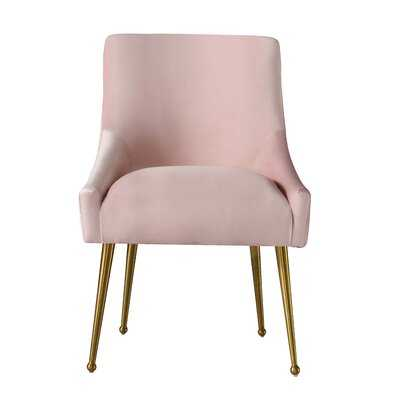 Stouffer Velvet Upholstered Side Chair - Wayfair