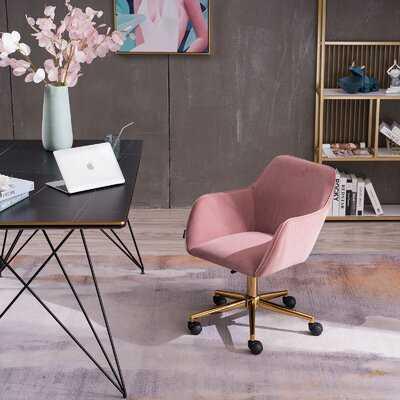 Starboard Home Office Velvet Task Chair - Wayfair