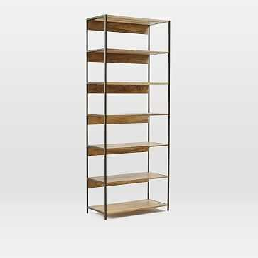 "Industrial Storage Modular System, 33"" Bookshelf - West Elm"