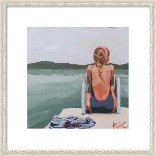 Self Reflection by Katherine Corden for Artfully Walls - Artfully Walls