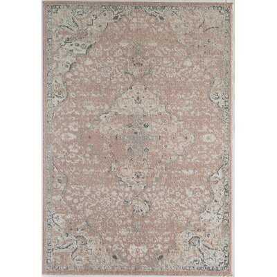 Hoyt Pink/Ivory Area Rug - Wayfair