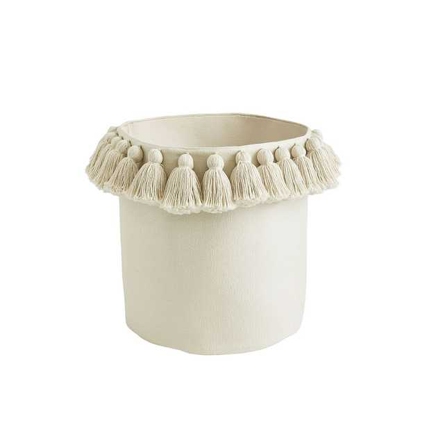 Emily & Meritt Tassel Baskets, Natural, Catchall - Pottery Barn Teen
