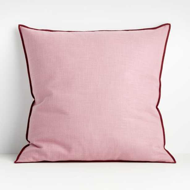 Ori Lilac 23? Pillow with Down-Alternative Insert - Crate and Barrel