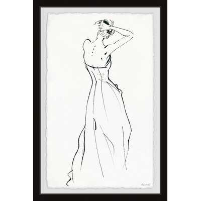 'Sexy Back' - Picture Frame Painting Print on Paper - Wayfair