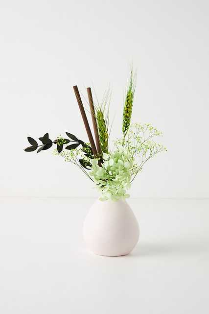 Floral Bouquet Ceramic Diffuser By Anthropologie in Purple - Anthropologie