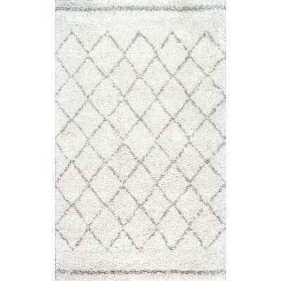 Manus Geometric Off-White Area Rug - Wayfair