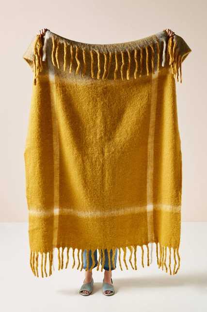 Woven Bella Throw Blanket - Anthropologie