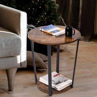 Himmelmann Floor Shelf End Table - Wayfair
