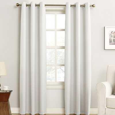 Macdoel Solid Blackout Thermal Grommet Single Curtain Panel - Birch Lane