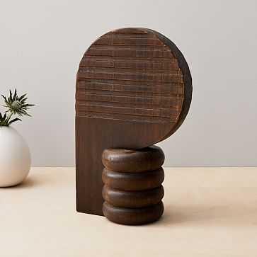 Diego Olivero Wood Decorative Object, Silhouette - West Elm