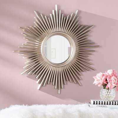 Josephson Starburst Glam Beveled Accent Wall Mirror - Wayfair