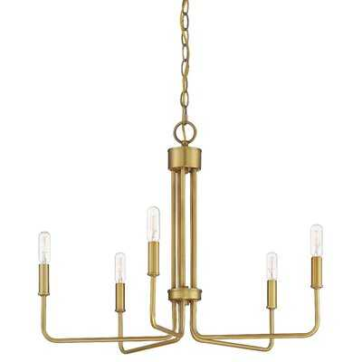 Dalessio 5 - Light Candle Style Classic / Traditional Chandelier - Wayfair