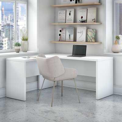 Delco L-Shaped Desk Shell - Wayfair