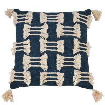 Binberrie Boho Tassel Design Pillow, Cover Only - Wayfair