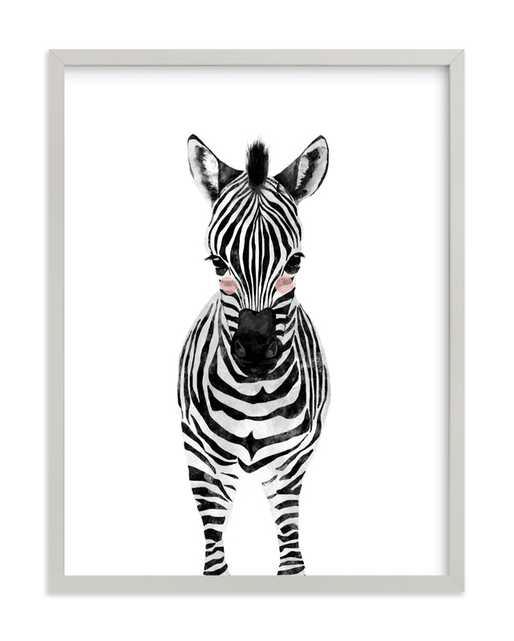 Baby Animal.zebra Children's Art Print - Minted