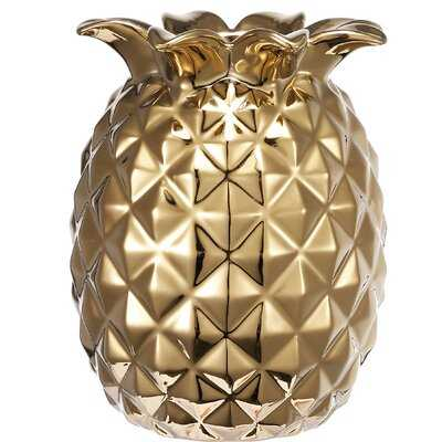 Teter Pineapple Table Vase - Wayfair