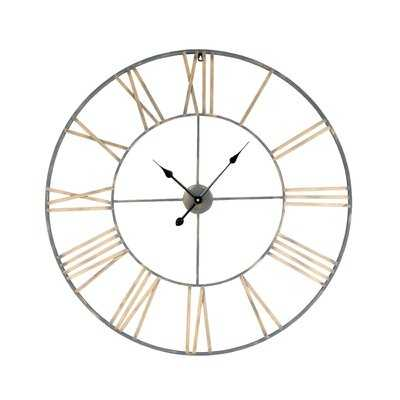 "Oversized Poulsen Solange 36"" Wall Clock - Wayfair"