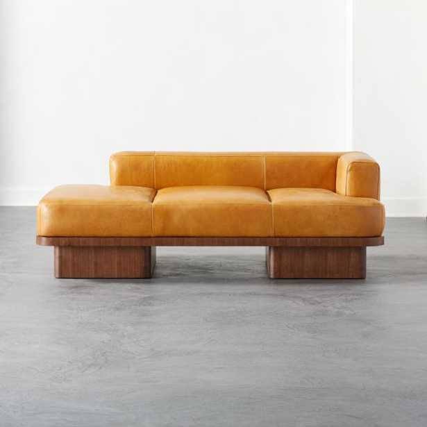 Serafin Leather Daybed - CB2