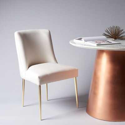 Sandon Velvet Upholstered Side Chair - Wayfair