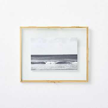 """Terrace Floating Frame, 8.25""""x10.25"""" - West Elm"""
