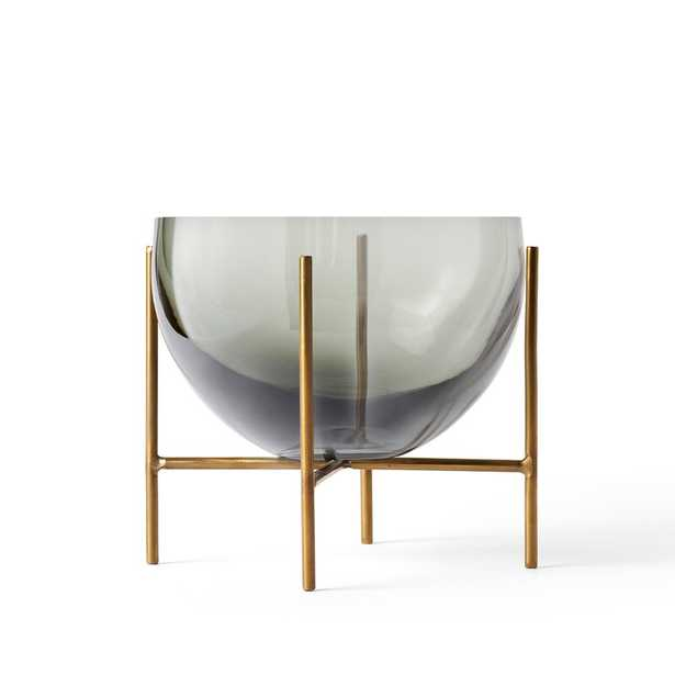 "Menu Echasse Clear Glass Table Vase Size: 5.1"" H x 5.9"" W x 5.9"" D - Perigold"