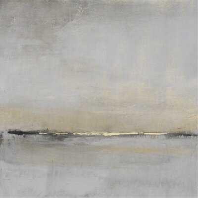 Horizontal Flow II Print On Canvas - Wayfair
