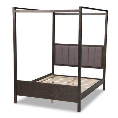 Carrillo Upholstered Canopy Bed - Wayfair