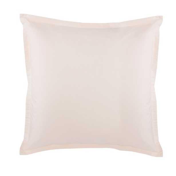Lorimer Euro Square Pillow Cover & Insert Color: Dusty Rose - Perigold